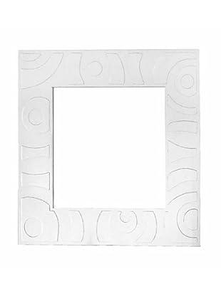 Specchio Kalahari Bianco 80X80 cm