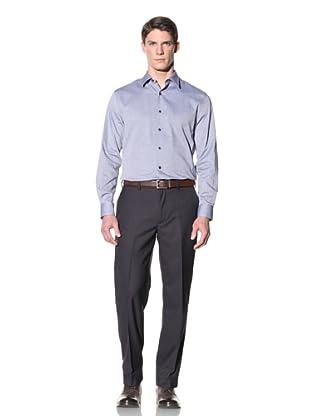 Perry Ellis Men's Slim Fit Oxford Shirt (Limoges)