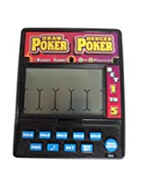 DRAW POKER DEUCES POKER Electronic Handheld Game (1-2 Players)