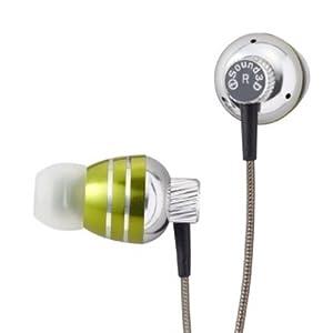 【クリックで詳細表示】IDEA LABEL i Sound 3D Earphone Jazz グリーン 3D-Jazz-GR