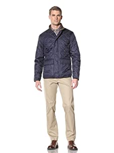 Hart Schaffner Marx Men's Quilted Grant Jacket (Navy)