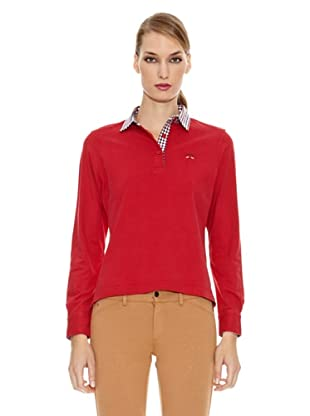 Spagnolo Polo Punto Liso Broward (Rojo)