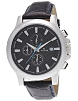 Maxima Chronograph Black Dial Men's Watch - 27710LMGI