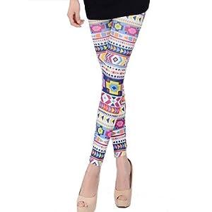 Estonished_Nightwear Printed Leggings - Multicolour
