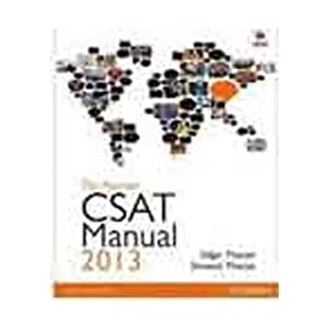 The Pearson CSAT Manual 2013: UPSC Civil Services Aptitude Test for the UPSC Civil Services Examination (Old Edition)