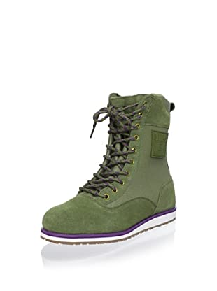 Etnies Women's Regiment Hi Top Sneaker (Olive)