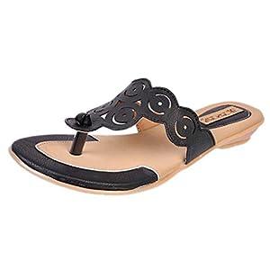 Jolly Jolla Women's Velcthin Black Synthetic Ankle Length Boots -3 UK