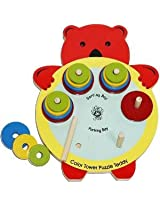 Color Tower Puzzle Teddy