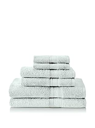 Terrisol Aertex 6-Piece Towel Set, Sea Glass