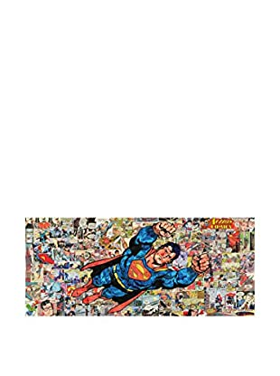 Contemporary Home Panel Decorativo Action Comic A