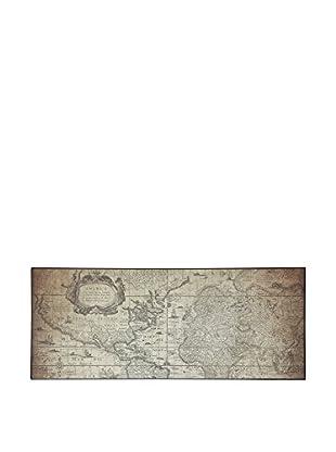 ABC Tappeti Alfombra Vinyl Vn04 Traveler Barro 50 x 120 cm