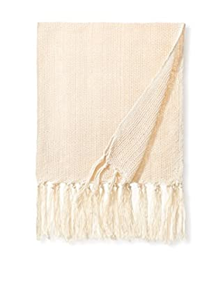 Nomadic Thread Hand Woven Netted Guest Towel, Natural