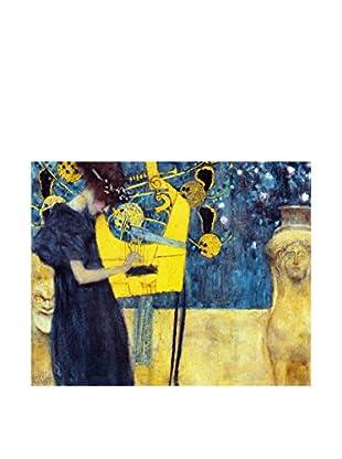 Legendarte Lienzo Musica di Gustav Klimt