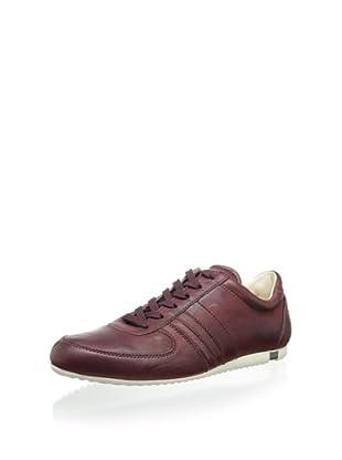 Dolce & Gabbana Men's Leather Sneaker (Wine)