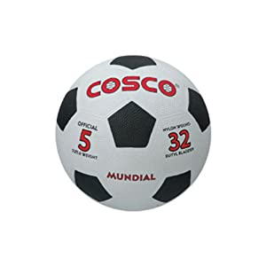 Cosco 14013 Mundial black and white football