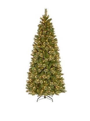 National Tree Company 7.5' Tacoma Pine Slim Hinged Tree