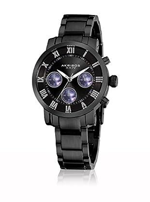Akribos XXIV Reloj con movimiento cuarzo japonés Man AK623BK 36.5 mm