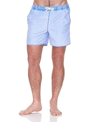 Cortefiel Bañador Bañador Ctf Liso (Azul)