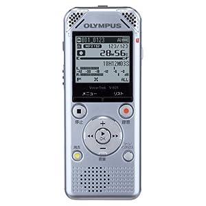 OLYMPUS ボイスレコーダー VoiceTrek 2GB 高音質 MP3/WMA ステレオ録音 microSD対応 V-801