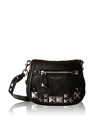 Marc Jacobs Umhängetasche Leather Saddle Bag W Studs