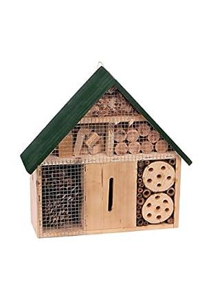 Skalny Wooden Bug House, Tan/Green