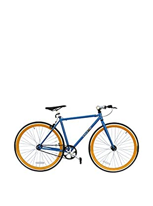 Galaxie Fixed Gear Bike, Blue/Orange, 48cm
