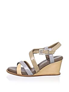 STEPHANE KELIAN Women's Cadix Wedge Sandal (Beige)