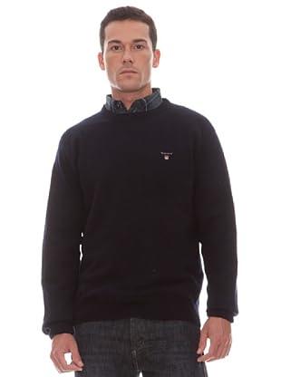 Gant Jersey Liso Redondo (marino)