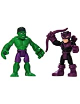 Playskool Heroes Super Hero Adventures Hulk & Marvels Hawkeye Toy