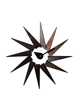 George Nelson by Verichron Wooden Turbine Wall Clock