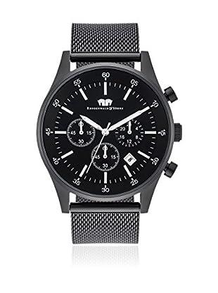 Rhodenwald & Söhne Reloj de cuarzo Goodwill Negro 45 mm