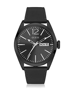 Guess Uhr mit japanischem Mechanikuhrwerk Man Vertigo Black schwarz 45 mm
