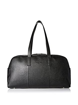 Christian Lacroix Signature Pebbled Duffle Bag, Black
