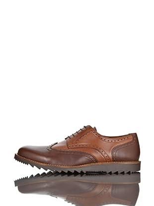 British Passport Zapatos Piel (Marrón / Cognac)