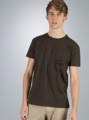 By Basi Camiseta Básica (caqui)