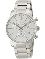 Calvin Klein Silver Dial Men's Watch - K2G27146