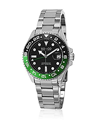 SO & CO New York Uhr mit Miyota Uhrwerk SO & CO New York Gp15345 Casual Miyota Movement 40 mm