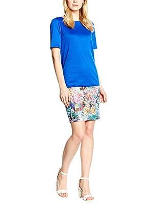 Maiocci Kleid blau/mehrfarbig S