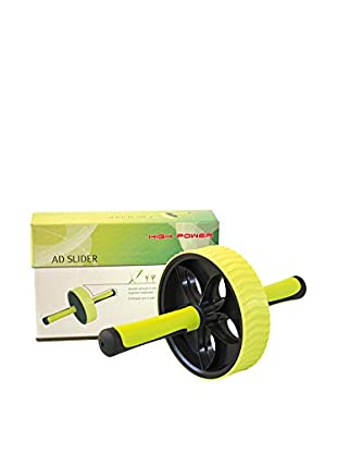 High Power Attrezzo Fitness Ad Slider Lux Box Nero/Verde