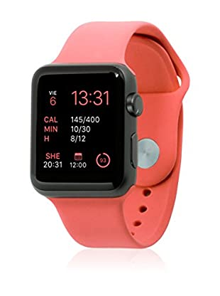 UNOTEC Correa Sport Apple Watch 42 mm Rojo