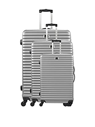 BLUESTAR Set 3 Trolley Rigido Brazilia