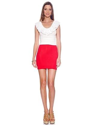Bolero Ibiza Vestido Caulonia (Rojo)