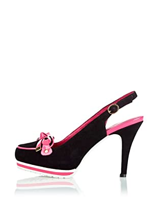 Ladystar by Daniela Katzenberger Zapatos de Tacón Kara (Negro / Rosa)