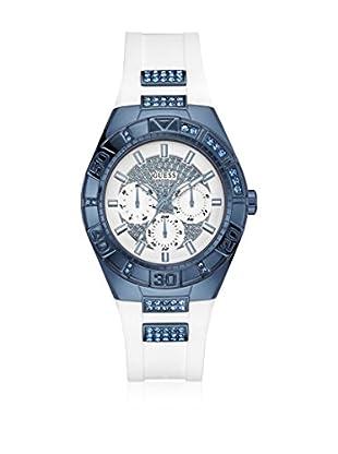 Guess Uhr mit japanischem Mechanikuhrwerk Woman Luna Blue blau 40 mm