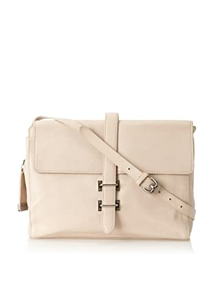 Foley + Corinna Women's Simpatico Skinny Double Lock Flap Clutch (Shell)