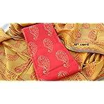 Block print Cotton Dress Material With Dupatta