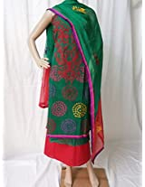 Ala Creations Cotton Silk Dress Material