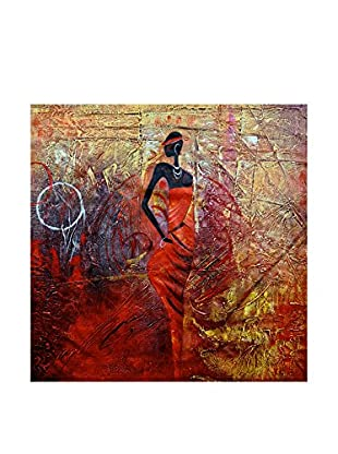 Legendarte Pintura al Óleo sobre Linezo Fiera Esibizione 50X60 Cm multicolor