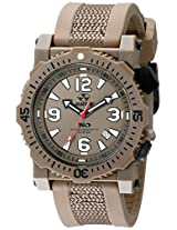 REACTOR Men's 43821 Titan Analog Display Japanese Quartz Brown Watch