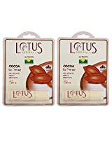 Lotus Herbals Lip Therapy - Cocoa - 4g Pack of 2
